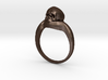 150109 Skull Ring 1 Size 12  3d printed