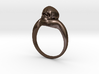 150109 Skull Ring 1 Size 10  3d printed