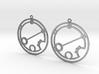 Brieanna - Earrings - Series 1 3d printed