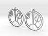 Skye - Earrings - Series 1 3d printed
