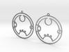 Ruby - Earrings - Series 1 3d printed
