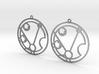 Matilda - Earrings - Series 1 3d printed