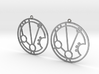 Mariam - Earrings - Series 1 3d printed