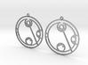 Lydia - Earrings - Series 1 3d printed