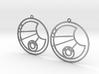 Lisa - Earrings - Series 1 3d printed