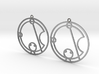 Katie / Catie - Earrings - Series 1 3d printed