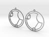 Ivy - Earrings - Series 1 3d printed