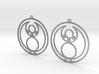 Jade - Earrings - Series 1 3d printed