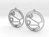 Isabel - Earrings - Series 1 3d printed