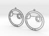 Alexa - Earrings - Series 1 3d printed