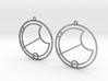 Eva - Earrings - Series 1 3d printed
