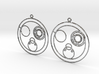 Colleen - Earrings - Series 1 3d printed