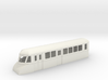 "009 bogie ""Flying Banana"" railcar single end lugga 3d printed"