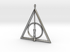 Deathly Hallows Pendant with Harry Potters's Wand  3d printed