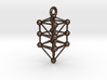 Large Qabalistic Tree of Life Pendant 3d printed