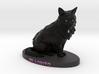 Custom Cat Figurine - Lobo 3d printed