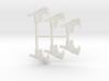 Tri Burst SMG Pack 3d printed