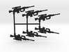 Intervention Sniper Rifle Pack 3d printed