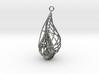 Seashell Pendant 3d printed
