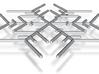 Snowflakes Series I: No. 5 3d printed