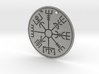 Pendant Runic compass D40mm 3d printed