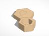 Hexagonal Wooden Box 3d printed