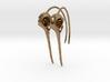 Pair (2) of Hummingbird Skull Earrings with Long B 3d printed