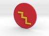 Printable Flash Symbol 3d printed