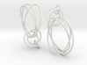 Earrings Loops Smaller - 2 Pcs 3d printed