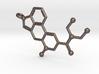 LSD 3D Printed Molecule Key Chain 3d printed