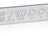 ZWOOKY Style 19 Sample - clothes tag 3d printed