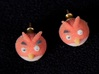 Angry Birds Earrings 3d printed