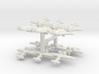 Hawk 75N/75O (Triplet) 1/900 x4 3d printed