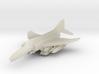 1/285 Scale (6mm) F-4E Phantom  w/ordnance 3d printed