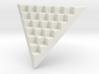 Pyramid Base for 12mm Dice (6 per edge) 3d printed