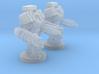 UWN - Infantry Heavy Mecha Suit Team 3d printed