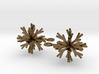 Snowflake Earring Iva 3d printed