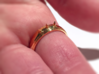 Nailed Wedding Ring - Size 5 3d printed