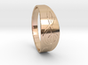 Size 7 M G-Clef Ring  3d printed