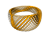 Twisted Ring - Size 10 3d printed Construction