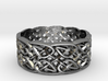 Switchback Knot Ring Size 0 3d printed