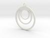 Loop pendant 3d printed