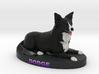 Custom Dog Figurine - Dodge 3d printed