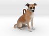 Custom Dog Ornament - Bandit 3d printed