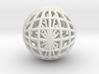 GLOBE GRID 3d printed