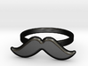 Ring Moustache 3d printed