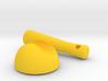 Elegant Key Hook with Keychain 3d printed