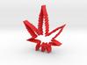 Weed Leaf Cookie Cutter 3d printed