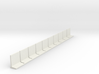 N Scale Retaining Wall 2000mm 10pc 3d printed