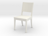 Dining Chair 1:12 scale 3d printed